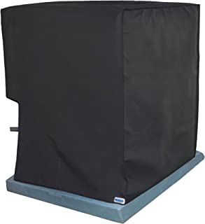Comp-Bind Technology Cover for Air Conditioning System Unit Goodman Model GSX130241B, Waterproof Black Nylon Cover Dimensions 26''W x 26''D x 27.5''H