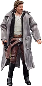 Star Wars The Vintage Collection Han Solo (Endor) Toy, 3.75-Inch-Scale Return of The Jedi Figure, Toys for Kids Ages 4 and Up,F1899