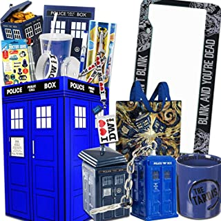 Doctor Who LookSee Box Perfect for Dr Who fans - Comes with Sonic Screwdriver, License Plate, Tardis Cookie Jar, Mug, and More