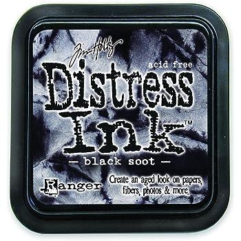 Ranger Tim Holtz Distress Pad, Black Soot