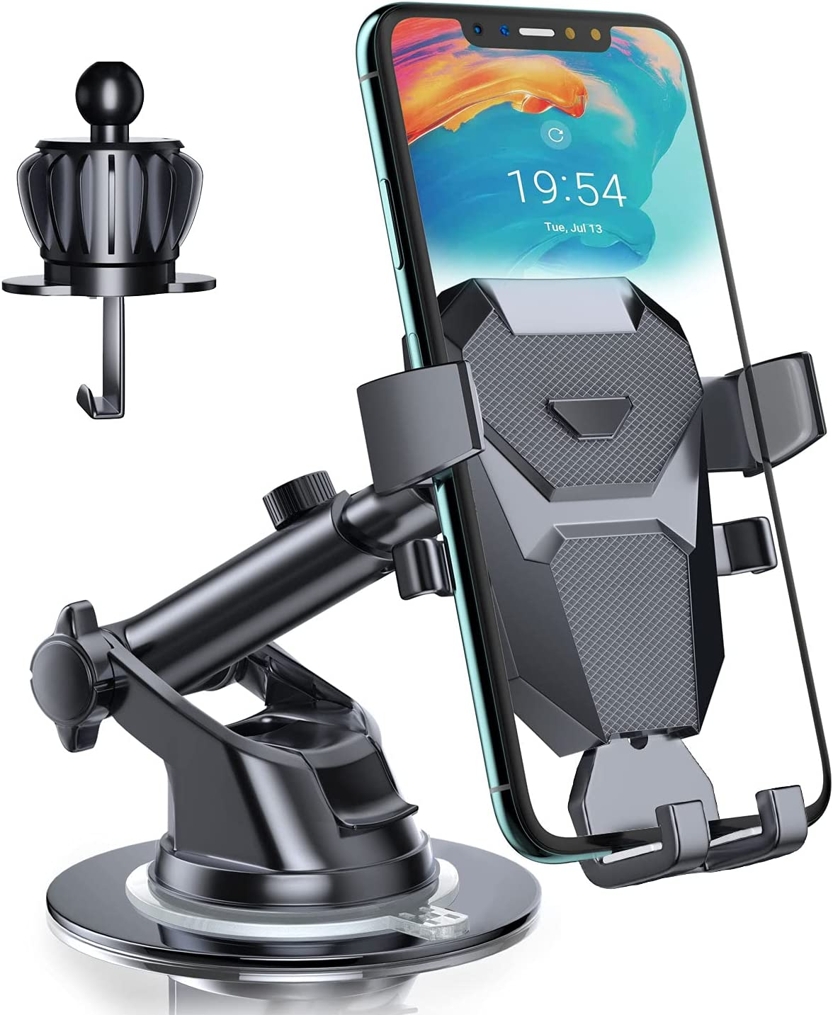 Phone Car Holder Ranking TOP13 Phepten Mount Cradle Topics on TV Ad 360 Arm with Long