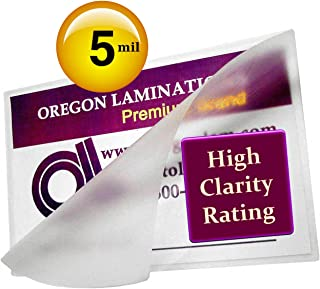 Qty 500 Prayer Cards Laminating Pouches 2-3/4 x 4-1/2 Hot Laminator Sleeves 5 Mil