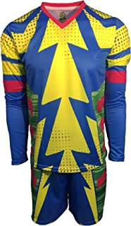 Brody Jorge Campos Blue Goalkeeper Set Jersey and Shorts