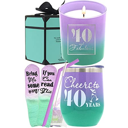 Birthday Gifts for Women 40, Birthday 40th for Women, 40th Birthday Gift for Women, 40th Birthday Gift, Birthday Gifts for Women 40th, 40 Birthday Gifts Women, 40 Birthday Decorations for Womens