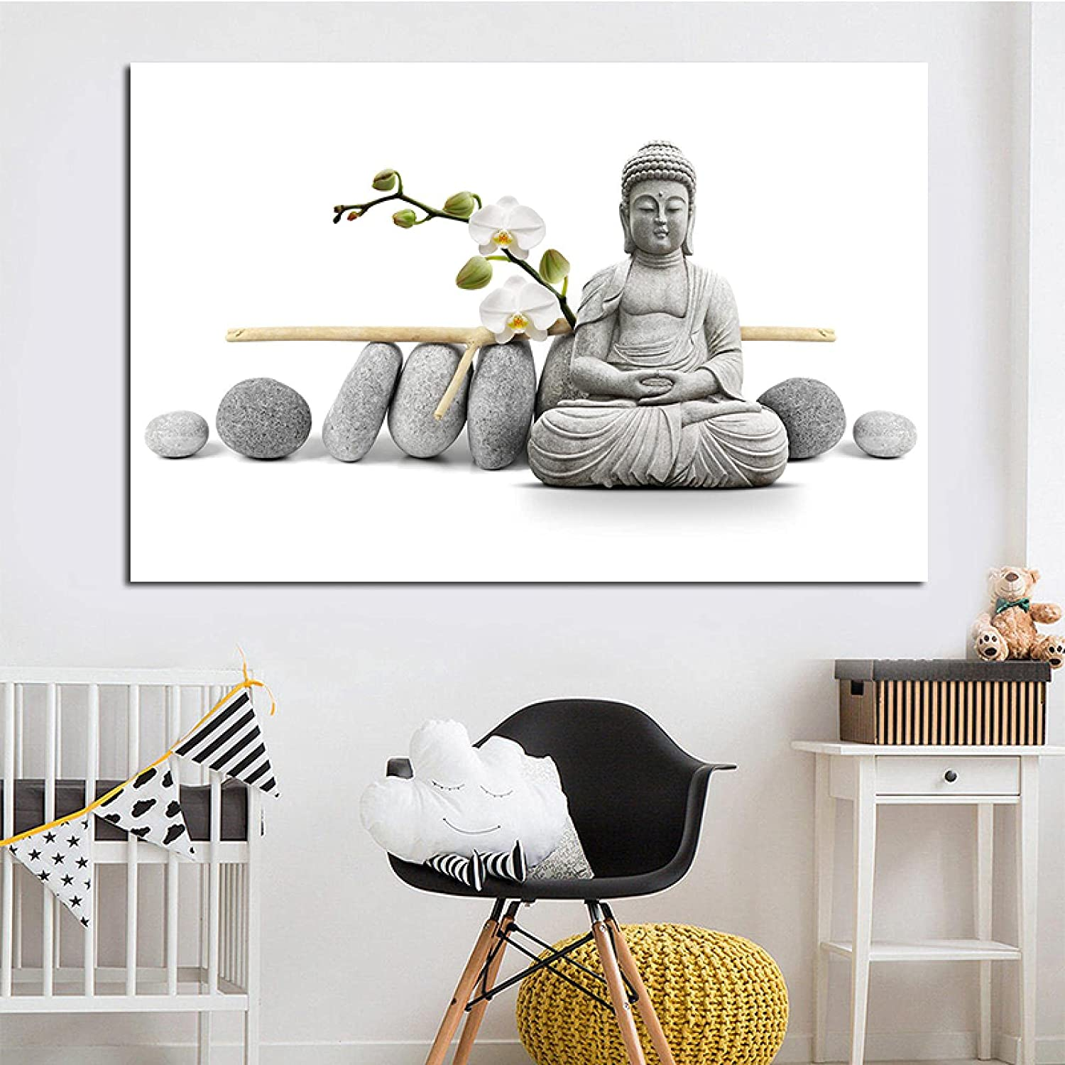 Poster artwork Print Be super welcome Attention brand Buddha Canvas for Home Painting Decoration