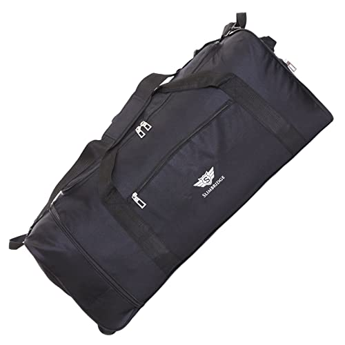 9d390fe9aecf Slimbridge Havant Extra Large 32 Inch Foldable Super Lightweight Wheeled  Rolling Luggage Holdall Duffle Bag