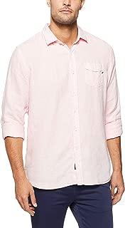 REPLAY Men's Linen Shirt