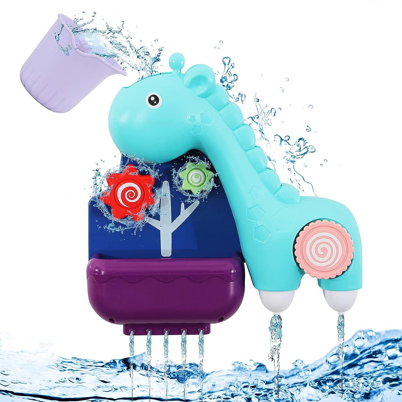 specialty shop ZWYOIUG free shipping Bath Toy Funny Baby Lovely Giraffe Bathub Pet