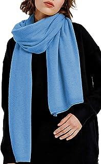 "Womens Extra Large Blend Cashmere Pashmina Elegant Travel Scarf Wrap Blanket 70x35"""