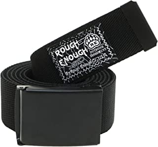 Rough Enough Designer Tactical Belts for Men with Heavy Military Elastic Web EDC