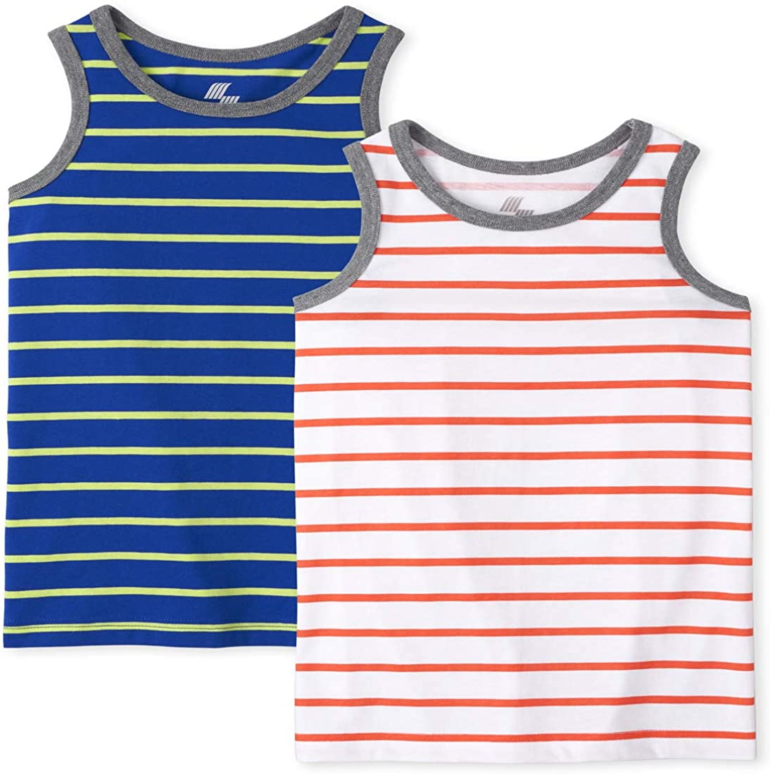 The Children's Place Boys' Stripe Tank Tops, Pack of Two
