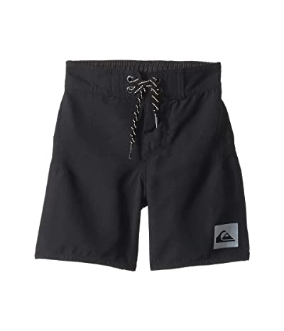 Quiksilver Kids Highline Kaimana 14 Boardshorts (Toddler/Little Kids) (Black) Boy