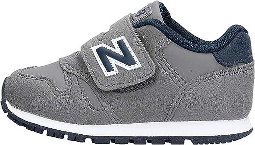 New Balance IV373FB Chaussures de Tennis Garçon Gris/Bleu 22½ ...
