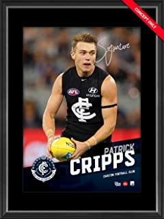 Sport Entertainment Products Patrick Cripps Signed Vertiramic