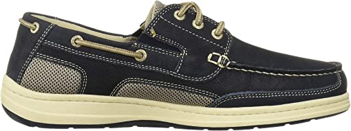Navy Tumbled Nubuck