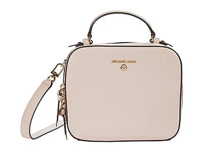 MICHAEL Michael Kors Jet Set Charm Medium Top-Handle Crossbody (Soft Pink) Handbags