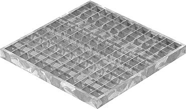 34//38 mm//Ideal f/ür den Einsatz im Innen und Au/ßenbereich Maschenweite Schwei/ßpressrost Gitterrost SP-Rost Treppe Podest Verzinkt//Breite 120cm Tiefe 100cm