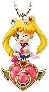 Bandai Sailor Moon Twinkle Dolly 4 Figure Charm : Super Sailor Moon & Crisis Moon Compact