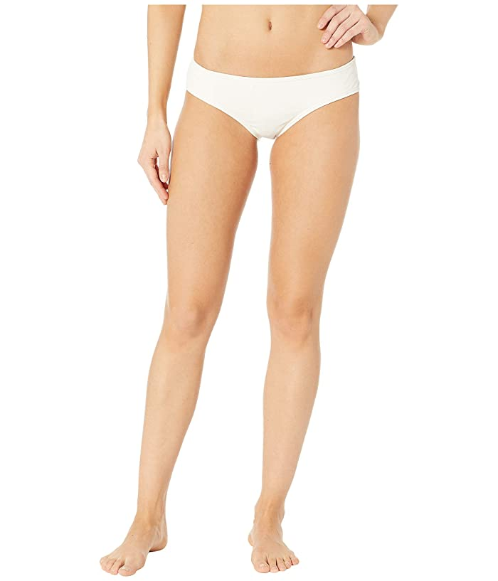 Vince Camuto Surf Shades Shirred Smooth Fit Cheeky Bikini Bottoms (Sand) Women