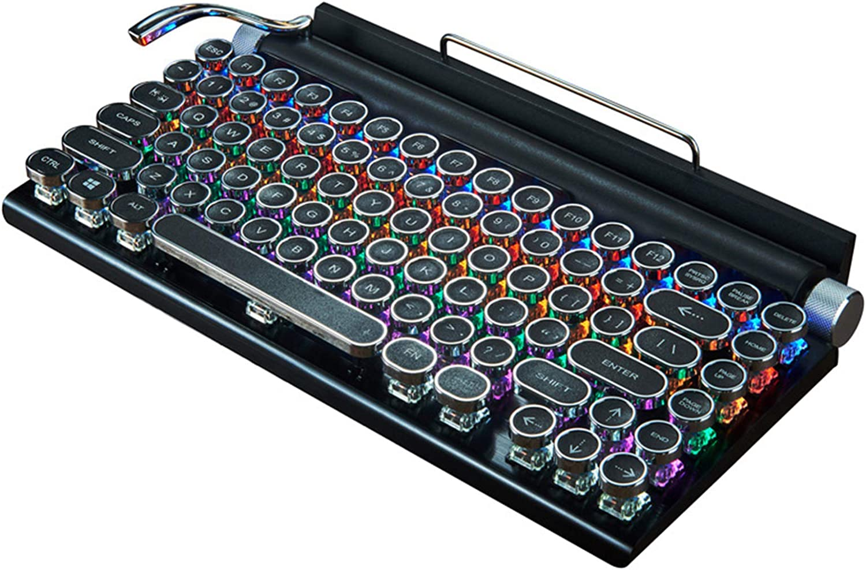 guoYL26sx Teclado para máquina de escribir, inalámbrico ...