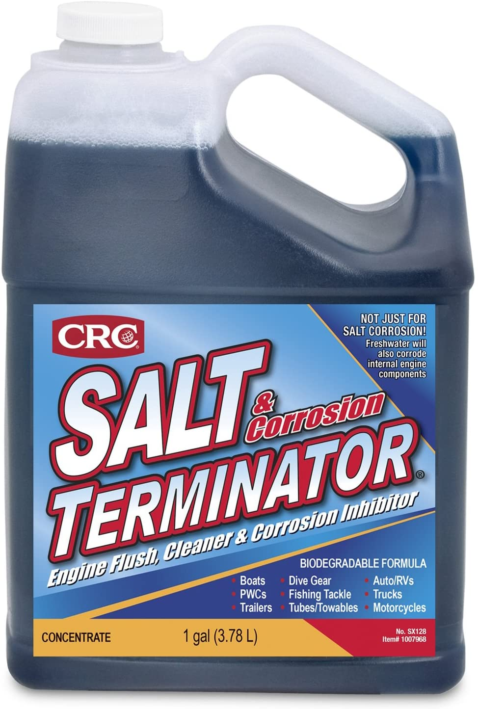 CRC SX128 Salt Terminator Popular standard Engine Department store and Cleaner Corrosion Flush In