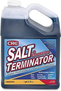 CRC SX128 Salt Terminator Engine Flush, Cleaner and Corrosion Inhibitor - 1 Gallon