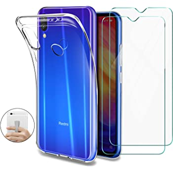 Cover per Xiaomi Redmi Note 7 / 7 PRO [3 Pack] Morbido Trasparente
