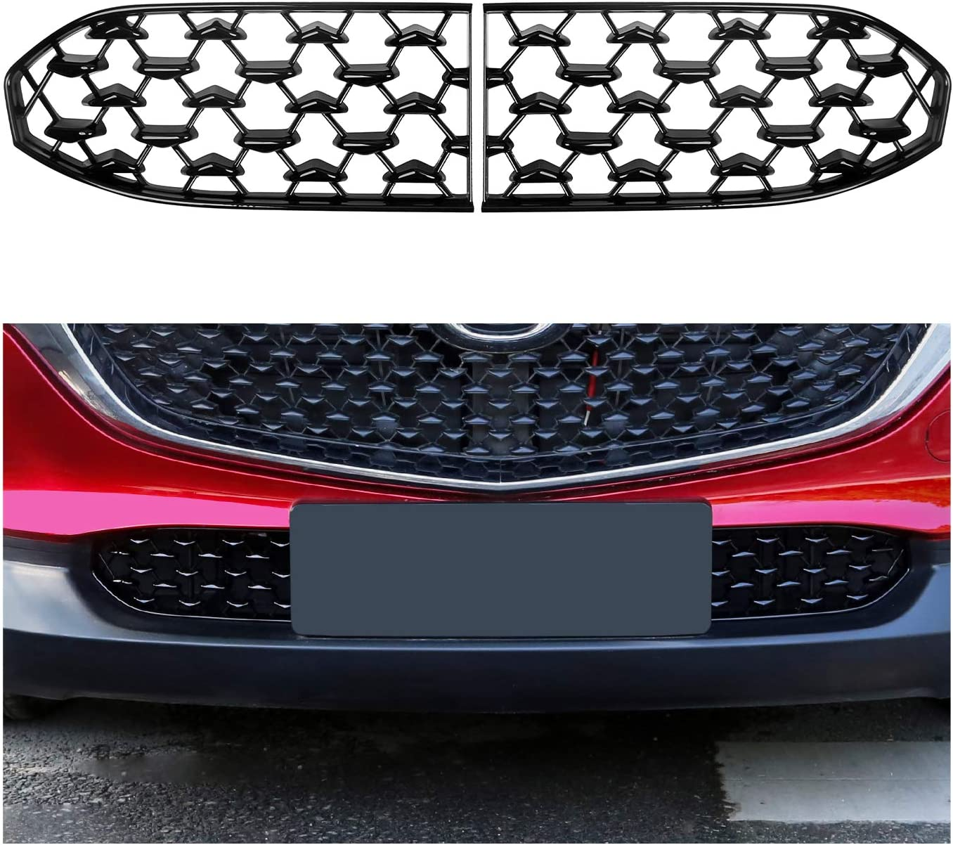 CDEFG CX30 Front Grill Mesh Guard Inserts Grille Trims for Large special price Rapid rise