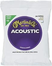Best martin m170 acoustic guitar strings Reviews