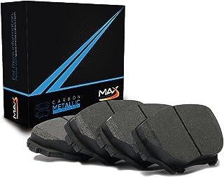 Max Brakes Front Carbon Metallic Performance Disc Brake Pads TA001451 Fits: Acura 1991-1995 Legend 1996-1998 RL & TL 1997-2001 Integra Type R | Honda 1997-2001 CRV & Prelude