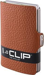 I-CLIP ® Portafoglio Pure Marrone dado (Disponibile In 5 Versioni)