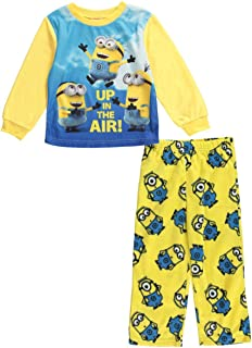 Despicable Me Yellow 'Up in The Air' Minions Pajama Set - Toddler