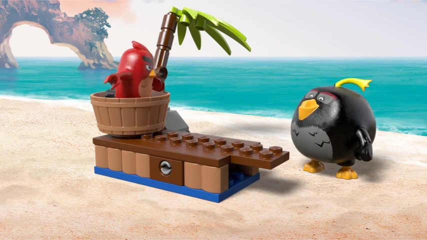LEGO 75825 Angry Birds Piggy Pirate Ship Building Set KIDS FUN GIFT IDEA *NEW*