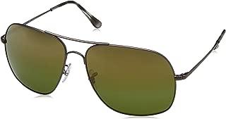 Ray-Ban RB3587CH Chromance Mirrored Square Sunglasses
