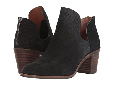Lucky Brand Powe (Black Suede Leather) Women