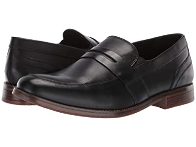 Rockport Style Purpose 3 Penny (Black) Men