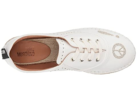 LOVE Moschino Faux Leather Espadrille wSF8eVc