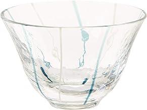 東洋佐々木ガラス 日本酒グラス ブルー 90ml 和がらす 冷酒グラス 日本製 10768