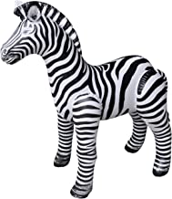 Jet Creations Inflatable Zebra, 32