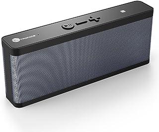 TaoTronics Bluetooth スピーカー NFC搭載 防水 マイク内蔵 ワイヤレス 軽量 コンパクト ポータブル お風呂 PC iPhone iPad Android (12か月+18か月間安心保証) TT-SK09 ブラック