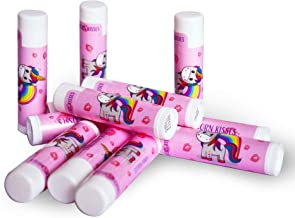 Unicorn Kisses, All Natural, Party Favor Lip Balm for Girls