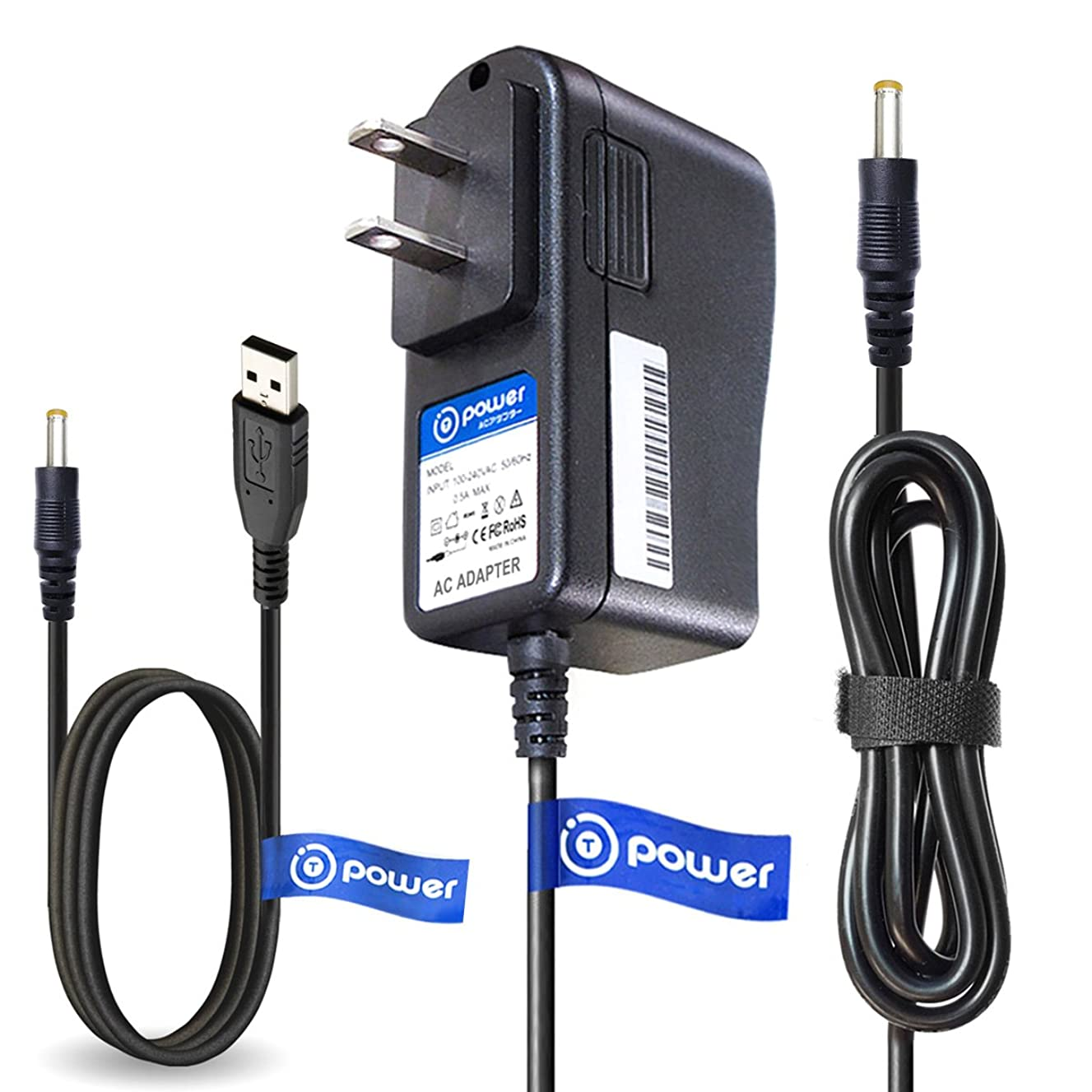 T-Power AC Adapter USB Cord Compatible with Fujifilm Instax Share Smartphone Printer SP-1 SP1 Instax(R) Share AC-5VX BKA-AC5VN AC-5VS, AC-5VC, AC-5VN, AC-5VW, AC-5V,AC-5VH, AC-5VHS, AC-5VX, 600005538