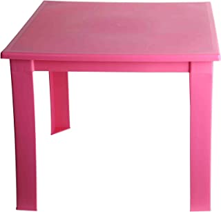 Amazon.fr : table de jardin plastique - Rose