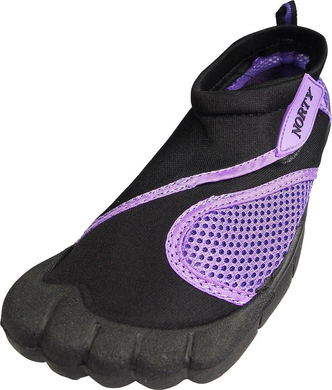 NORTY Womens Aqua Shoes - Ladies Quick Drying Water Sports Socks for Beach Pool Boating Swim Surf jpnbxacydhrvmtmh