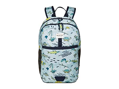 Burton Kids Lunch-N-Pack 35L Backpack (Little Kids/Big Kids) (Gone Fishin) Backpack Bags
