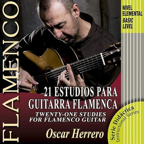 21 Estudios para Guitarra Flamenca (Nivel Elemental) de Oscar ...