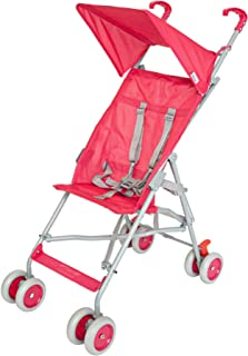Moon Jet-Ultra light weight/Compact fold Buggy Stroller/pram,-Suitable for kids ( from 6 months to 3 years) -Red