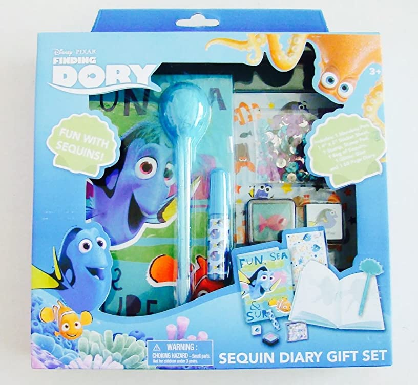 Finding Dory Sequin Diary Gift Set