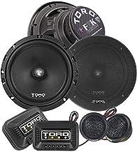 "TORO TECH – F6K, 6.5 Inch Component Car Speaker Set - 200 Watt MAX / 100 Watts RMS, 13mm Ferro Fluid Tweeters, 4 Ohm, 1"" K... photo"