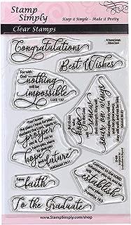 Best graduation rubber stamps scrapbooking Reviews